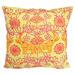 Bohemia & Co Yellow & Pink Elephant Cotton Cushion