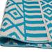 Artisan Decor Chatai Aquaite Reversible Indoor Outdoor Rug