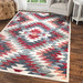 Halo Rugs Multi-Coloured Darcy Geometric Rug