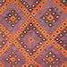 Persian Rug Co Fazee Hand-Woven Reversible Wool Kilim Rug