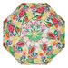 Bamboo Bungalow Fruit Salad Beach Umbrella