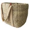 Tight Weave Palm Shopper Basket