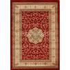 Samatra Traditional Persian Red Ivory Rug
