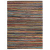 Flat Weave Striped Rug