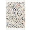White Diamond Plush Moroccan Rug