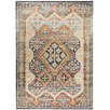 Rust & Beige Power-Loomed Transitional Rug