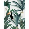 Treetop Toucan Canvas Wall Art