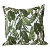 Summer Leaves Linen Cushion