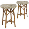 Como Rattan Side Tables