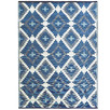White & Blue Chatai Classic Outdoor Rug
