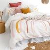 Rainbow Cotton & Linen Quilt Cover Set
