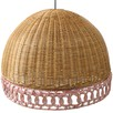 Dove Rattan Hanging Lamp