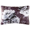Monochrome Beatrice Quilted Velvet Cushion