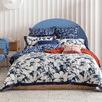 Blue Alto Cotton Sateen Quilt Cover Set