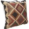 Kilm Checkered Floor Cushion with Handle