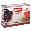 9 Piece Portables Double Decker Pyrex Dish Set