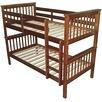 Walnut Donatello Timber Trundle Bunk Bed