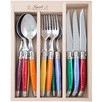 18 Piece Assorted Debutant Mirror Cutlery Set