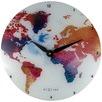 NeXtime Colourful World Wall Clock