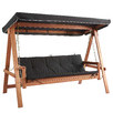 Rivers 3 Seater Swing Sofa Bed & Canopy