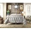 White Carter Metal Bed Frame