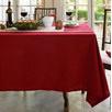 Elegant Hemstitch Round Table Cloth