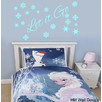 """Let it Go"" Snow Queen Elsa's Quote Removable Wall Decal"