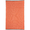 Kimberley Orange Geometric Rug