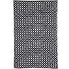 Black Kimberley Reversible Outdoor Rug