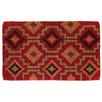 Red Lhasa Coir Doormat