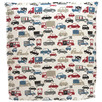 Trucks & Cars Bedhead With Reversible Slip Cover