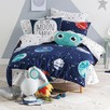 Planetary Cotton Quilt Cover Set