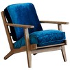 Modern Classic Leisure Velvet Armchair
