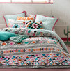 Antigua Multi Quilt Cover Set