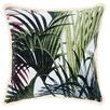 Green Fontana Cotton Cushion