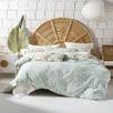 Aqua Tropea Cotton Quilt Cover Set