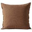 Cinnamon Chambray  Linen & Cotton European Pillowcase