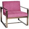 Raspberry Melrose Porter Armchair