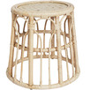 Palm Springs Rattan & Bamboo Side Table
