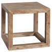Grove Oak Wood Side Table