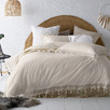 Natural Gypsy Stonewashed Cotton Quilt Cover Set