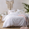 White Betty Cotton Quilt Cover Set