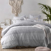 Silver Betty Cotton Quilt Cover Set