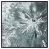 Accio Crystal Framed Canvas Wall Art