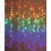 288 Multi-Coloured LED String Curtain Lights