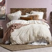 Cream Delilah Quilt Cover Set