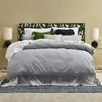 Silver Vintage Washed Cotton Quilt Cover Set