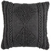 Charcoal Lela Cotton Cushion