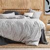 Silver Jett Cotton Quilt Cover Set