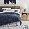 Denim Alessia Cotton Quilt Cover Set